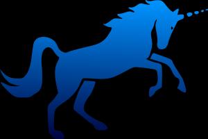 Single Strap Golf Stand Bag as Rare as a Blue Unicorn.  Image by User:Yamavu, Hashar & Kalki CC BY 2.5 via Wikimedia Commons