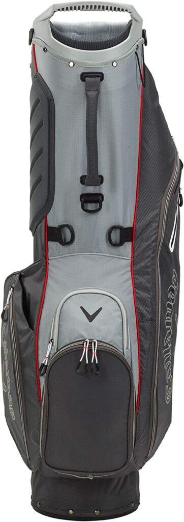 Callaway Golf 2021 Hyperlite Zero Stand Bag spine view